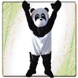 Mascotte adulte panda