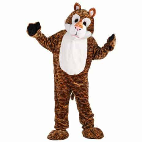 Deguisement de tigre mascotte