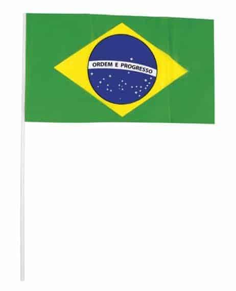 FANION BRESILIEN PLASTIQUE