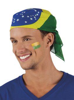 Bandana Brasil drapeau Brésil