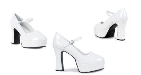 CHaussures Disco couleur blanche