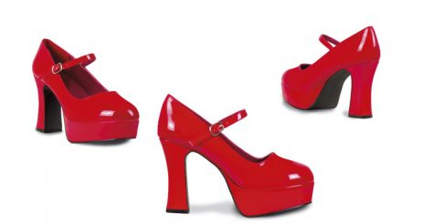 Chaussures femmes disco rouges