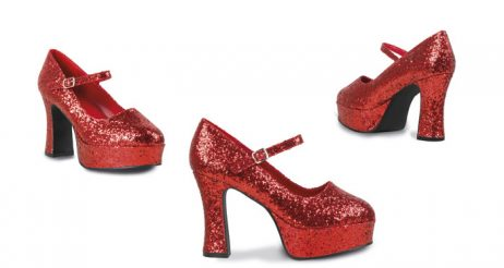 Chaussures disco rouges