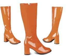 bottes disco orange