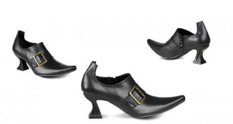 Chaussures noires de sorcière