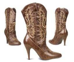 Santiags cowboy pour femmes