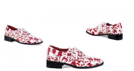 Chaussures horreur sanglante