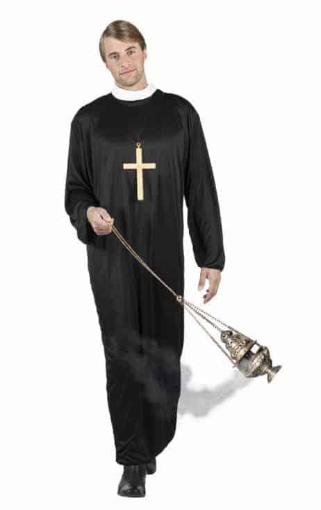 PRÊTRE CHRÉTIEN (Déguisement Adulte)