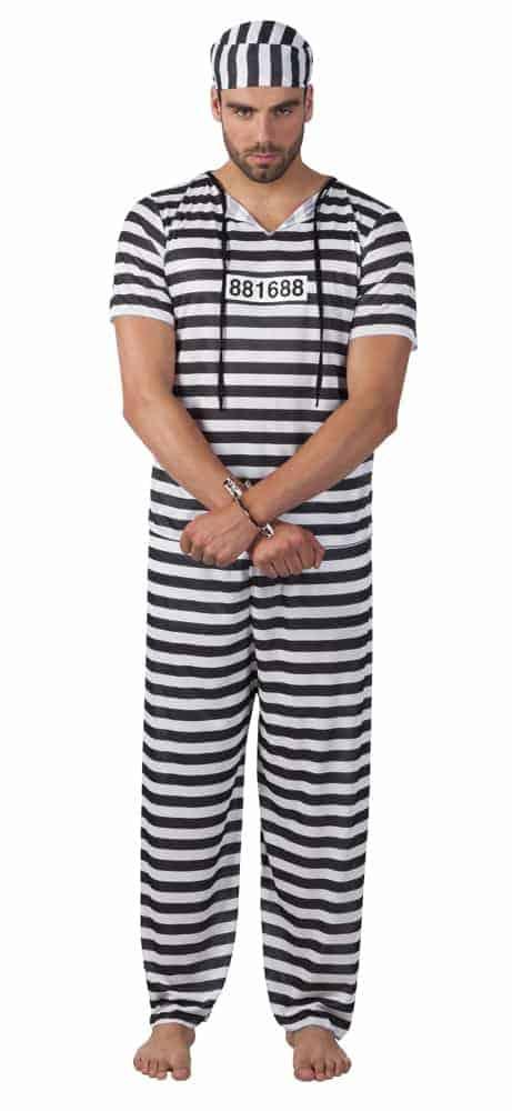 PRISONNIER BAGNARD (Déguisement adulte)