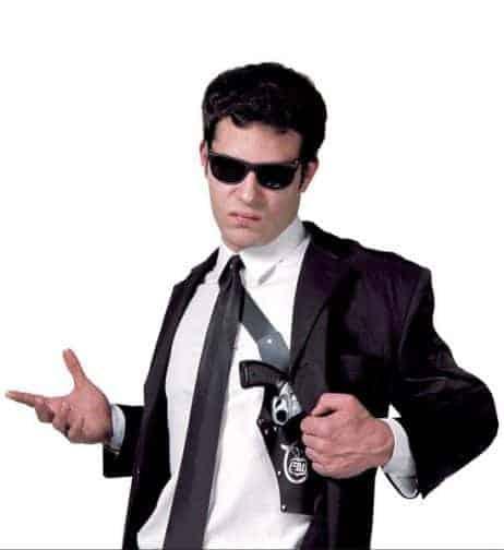 SACOCHE HOLSTER FBI