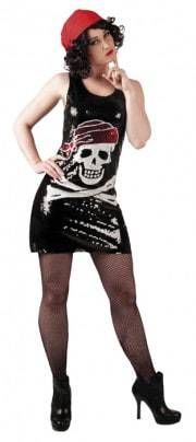 robe courte de pirate