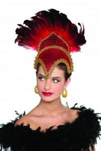 Coiffe danseuse carnaval