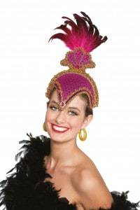 coiffe fushia carnaval bresil