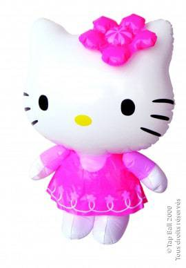 Gonflable de Hello Kitty
