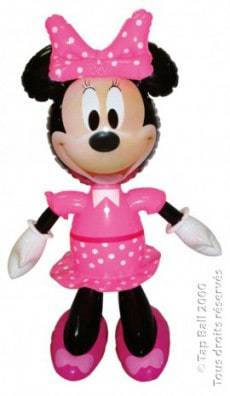 Minnie gonflable 49 cm