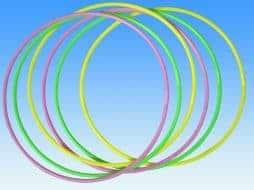 Hula hoop fluos
