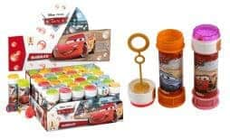 Bulle de savon Disney Cars 60 ml
