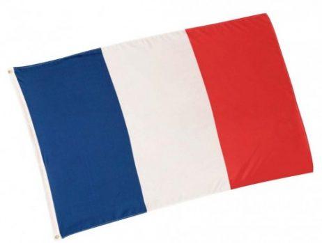 Drapeau aux couleurs de la France