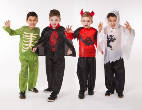 ASSORTIMENT - HALLOWEEN (Pack garçons de 4 à 12 ans) Déguisements pour enfants