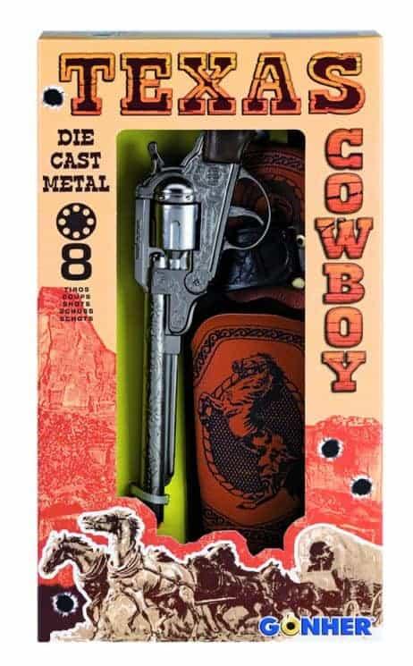 PISTOLET COW BOY GONHER (Colt 8 coups + Holster)