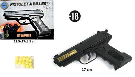 PISTOLET A BILLES (17 cm)