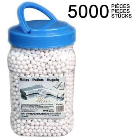 Pot 5000 billes recharges