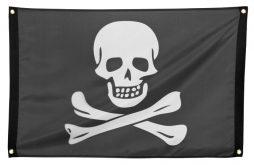 Drapeau pirate 60 x 90 cm