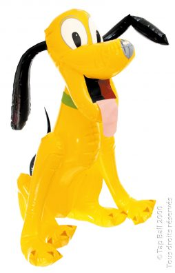 Gonflable pluto chien disney