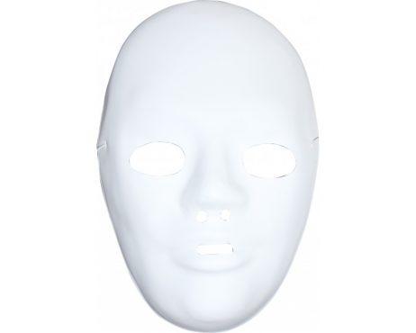 KIT MASQUES A PEINDRE (Plastique blanc)
