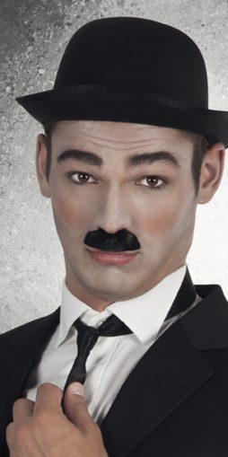 Moustache du personnage de charlot