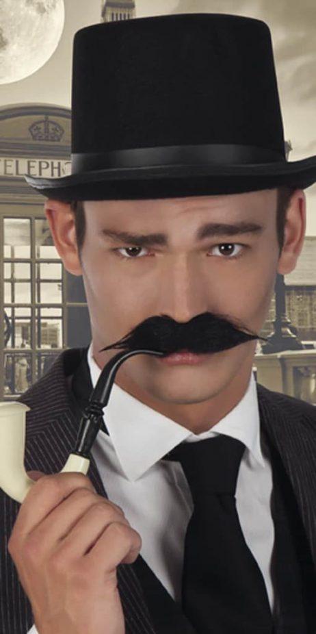 Moustache detective Gentleman