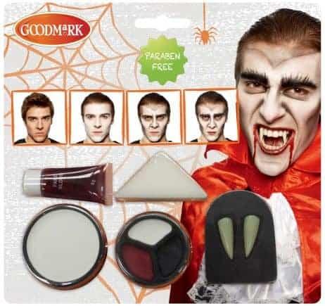 Kit de maquillage sans paraben pour vampire