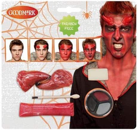 Kit de maquillage diable sans paraben