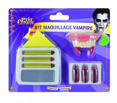 COFFRET DE VAMPIRE (Maquillage Halloween)
