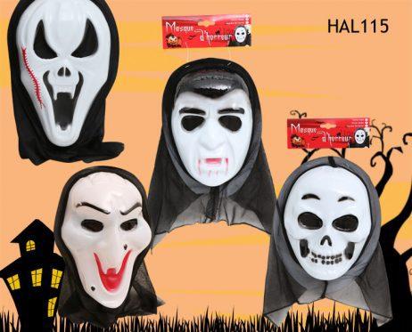 MASQUE DE SERIAL KILLER (Assortiment 4 modèles) Masques en plastique