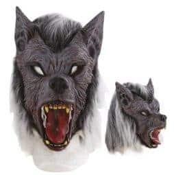 Masque terrifiant loup garou
