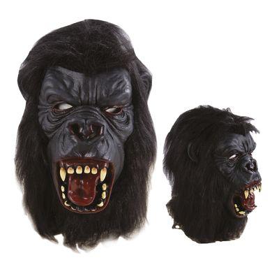 MASQUE DE GORILLE (Masque avec cheveux)