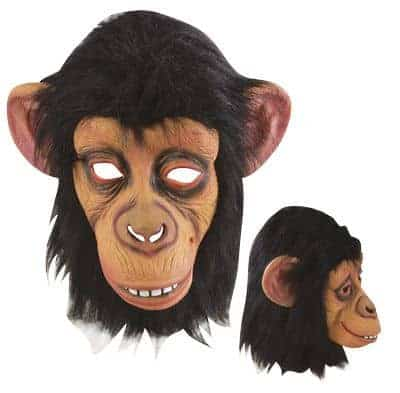 Masque de chimpanze