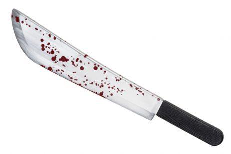 Couteau horreur halloween 53 cm