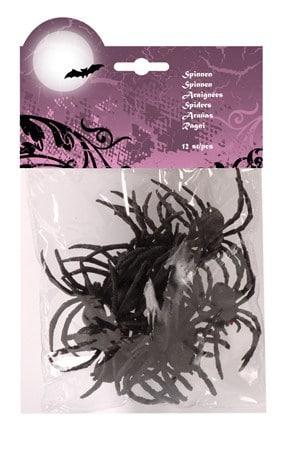 BLISTER DE 12 ARAIGNÉES (Sachet 12 araignées)