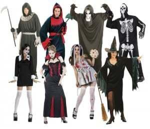 costumes femme et homme halloween
