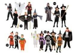 assortiment degusiement halloween enfants
