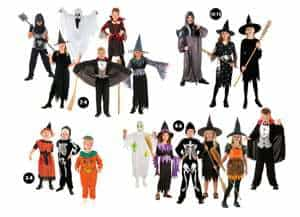 assortiment degusiement halloween enfants