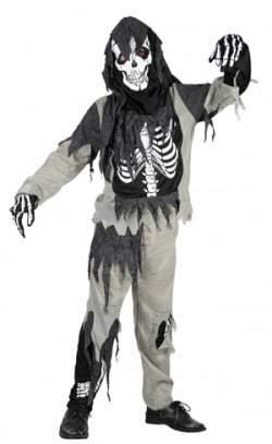 Costume zombie enfant