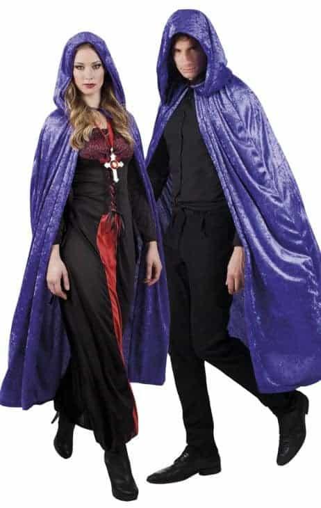 Cape vampire violette