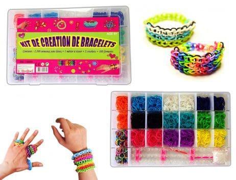 Kit creation bracelets elastiques 2600