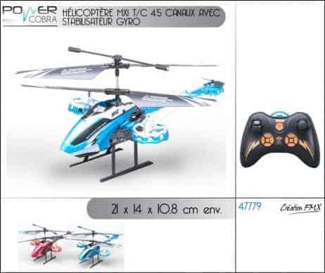 Helicoptere télécommandé
