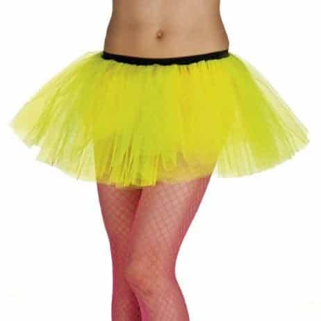 Tutu de danseuse jaune
