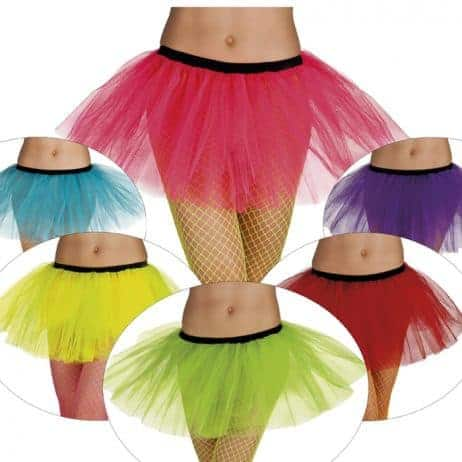 PACK DE TUTUS COLORÉS (Assortiment 6 coloris)