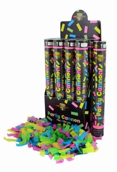 neon canon confetti